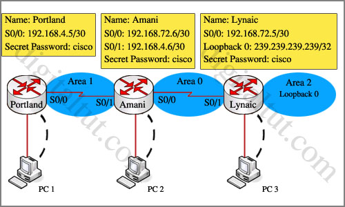 ROUTE 300-101 Training » OSPF Sim